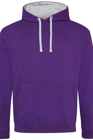 PURPLE.HEATHER GREY