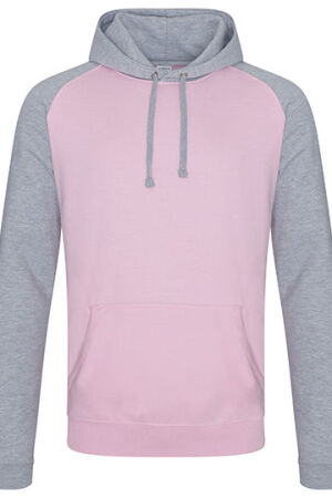 BABY PINK.HEATHER GREY